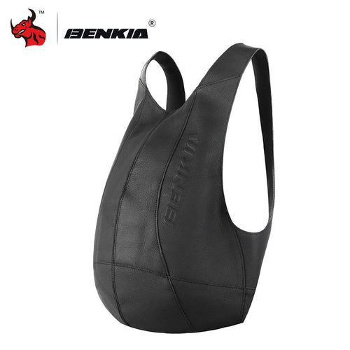 Genuine Leather Backpack Outside Pack Bags