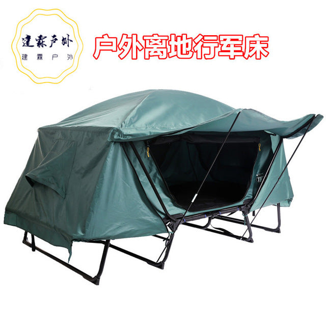 Double-Layer Elevated  Folding Waterproof Tent