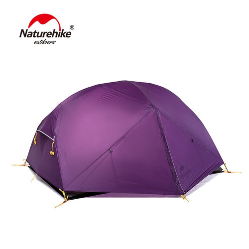20D Nylon Fabric Double Layer Waterproof Tent for 2 Persons
