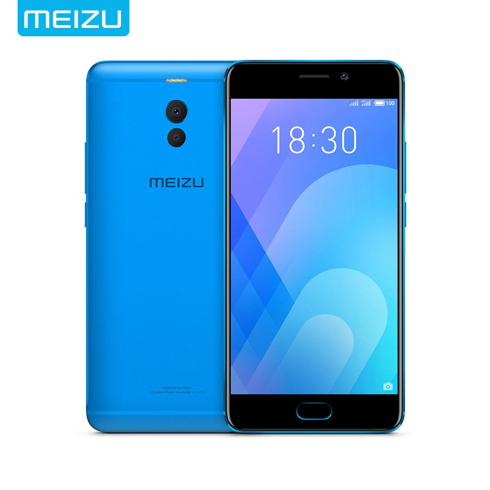 Original MEIZU M6 Note Smartphone 4GB 64GB Cell Phone Android Snapdragon 625 Octa Core 5.5'' 1080P 16MP Dual Camera 4000mAh Fingerprint 4G-LTE Smart Mobile Phone
