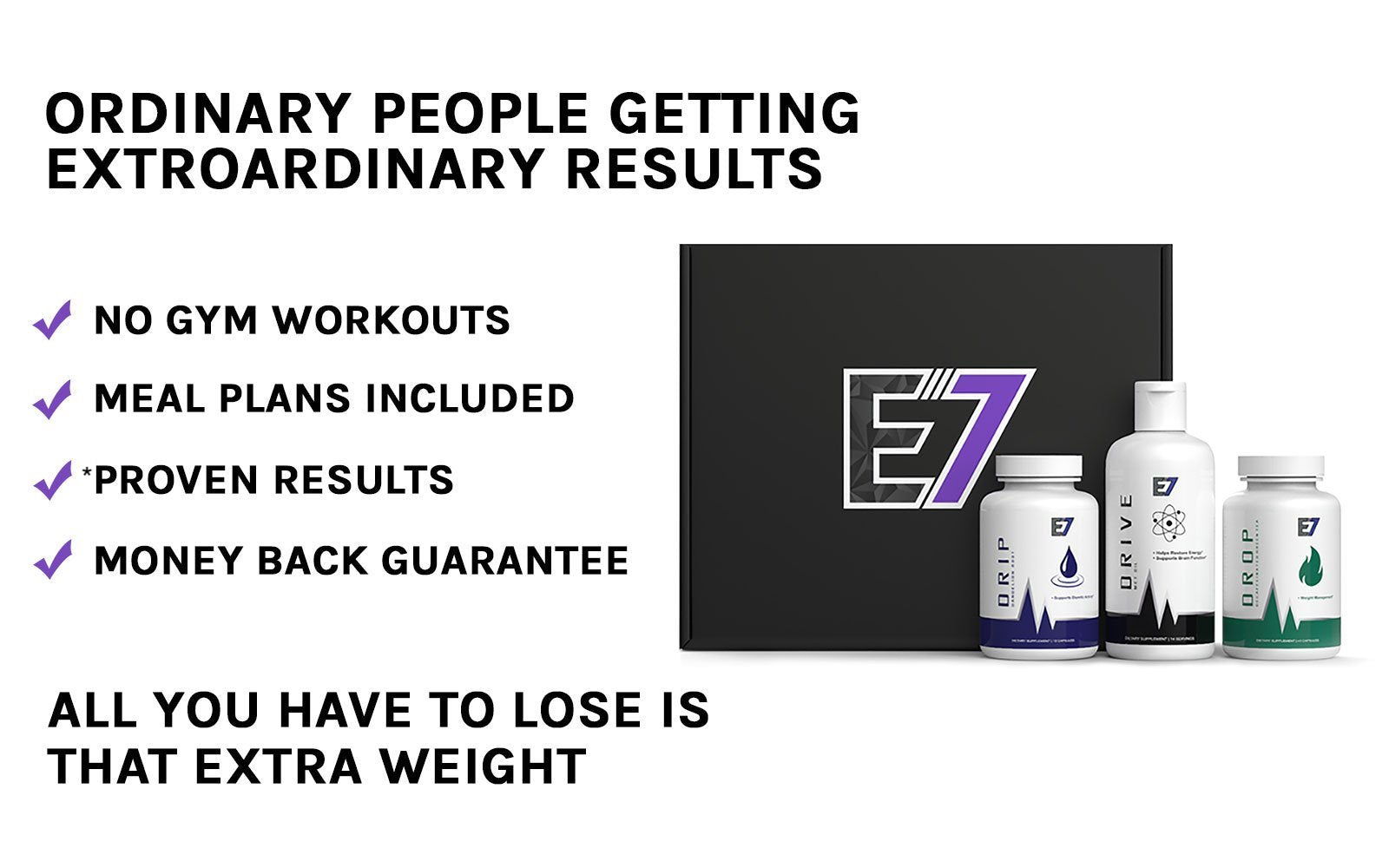 E7 Program Accelerated Weight Loss Program With Proven Results