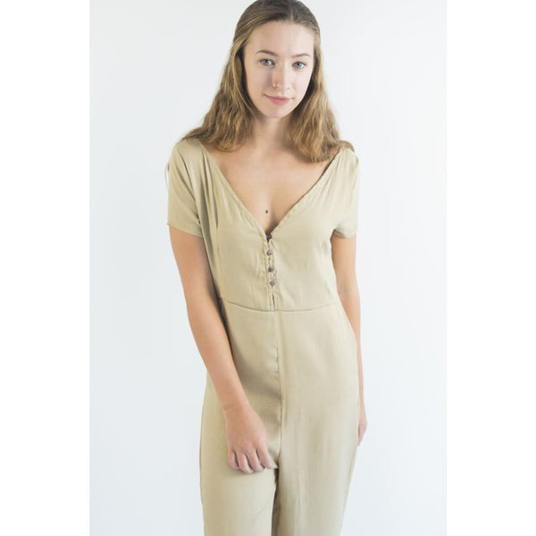 jumpsuit kv201 - XS / wheat