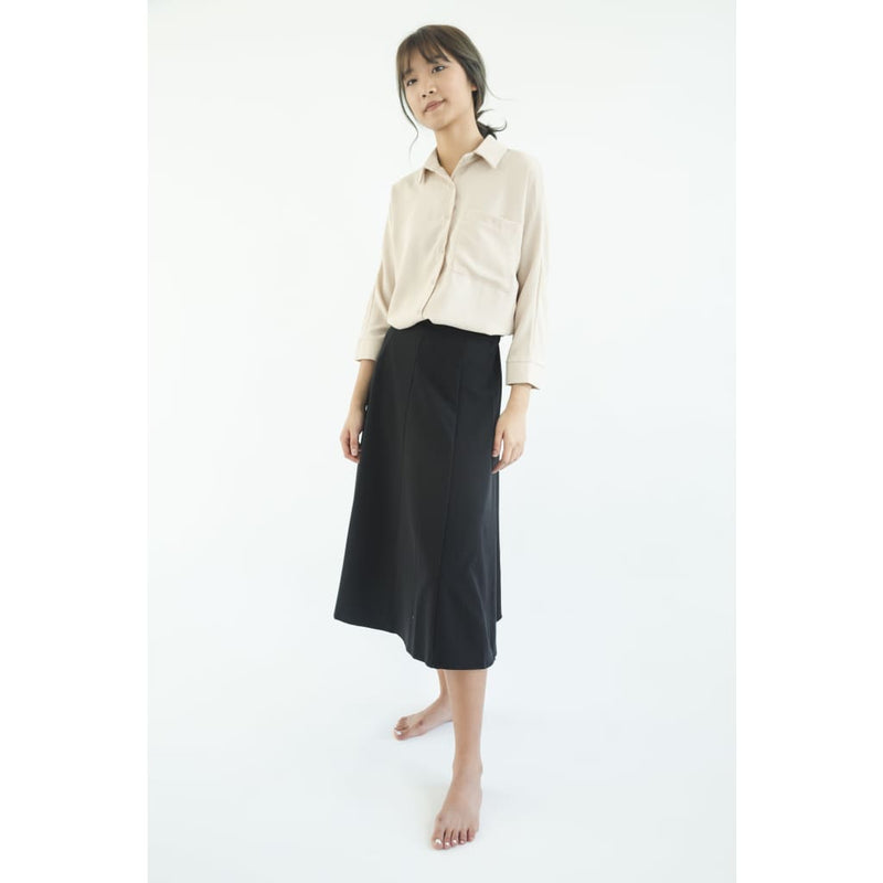 skirt keb204 - S / black