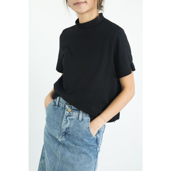 top ket213 - One Size / black