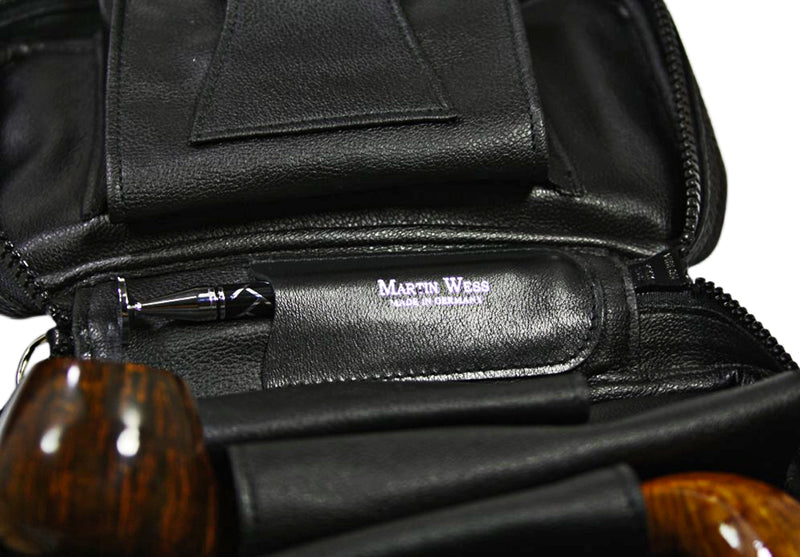 Martin Wess Norwegian Elk Skin 4 pipe bag # 15-4