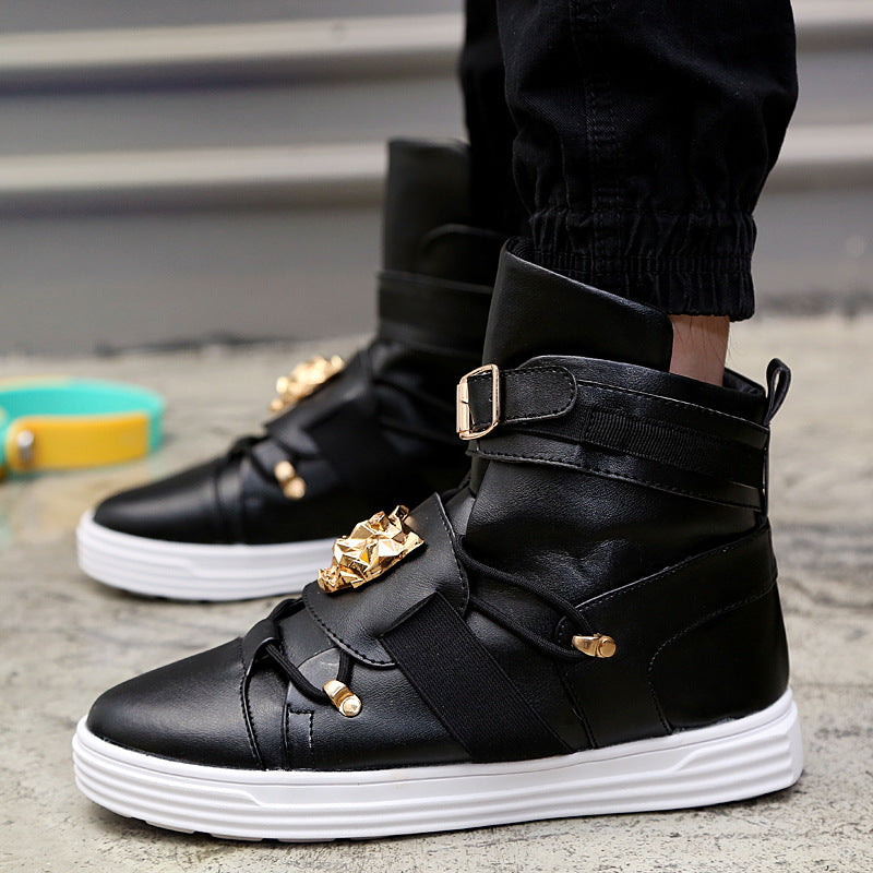 "ZCHEKHEN ""Punk"" High Top Sneakers"