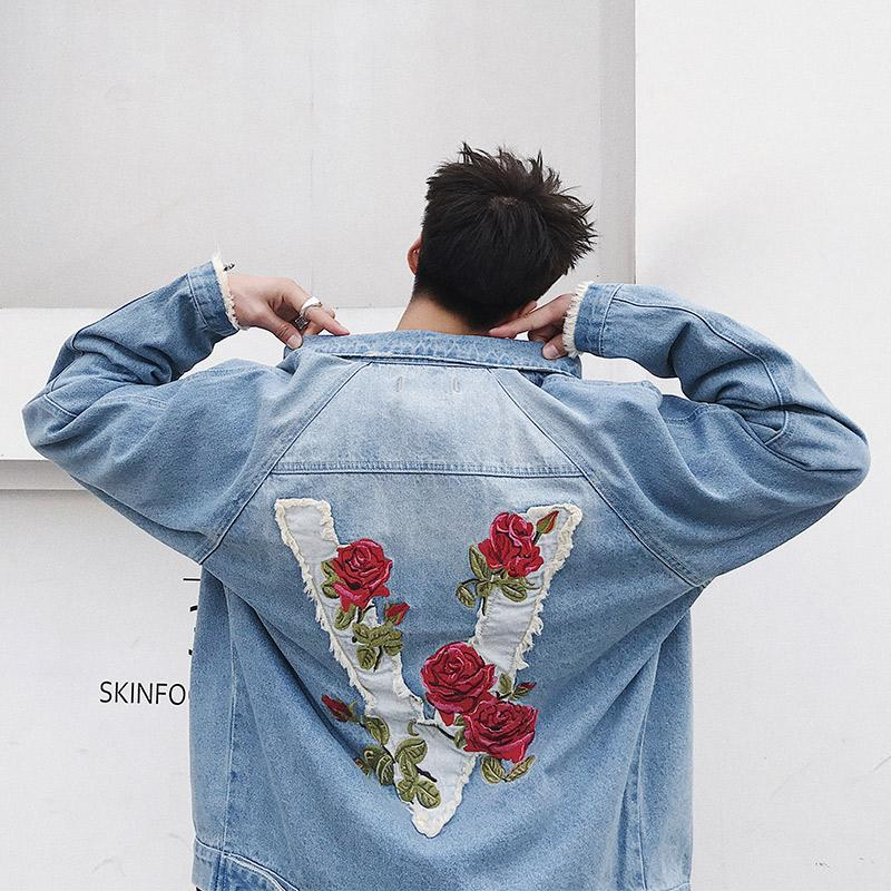 """Vendetta x Roses"" Denim Jacket"