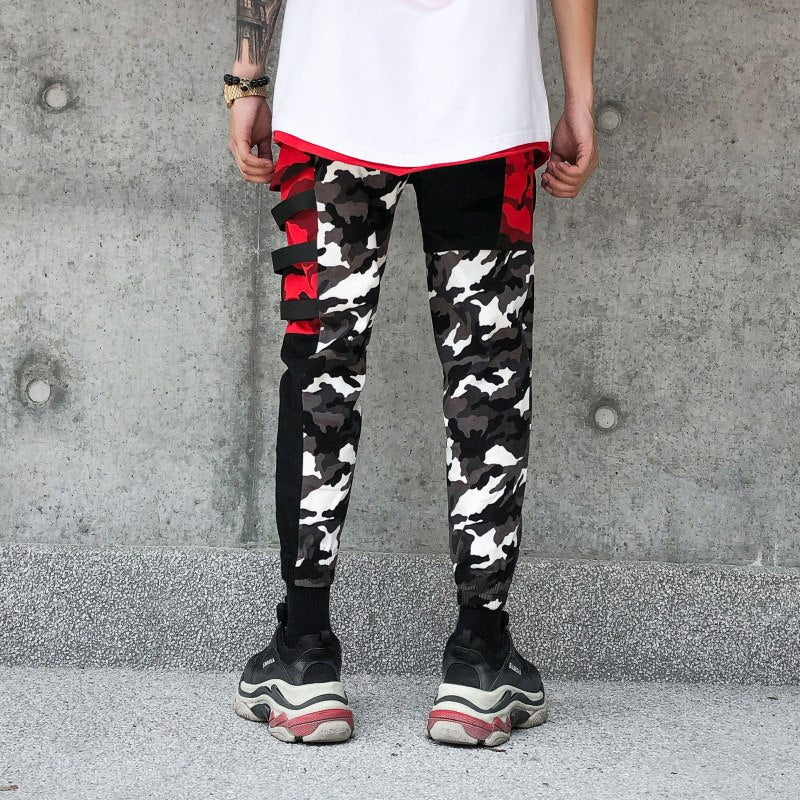 RBW Military Style Camo Cargo Pants