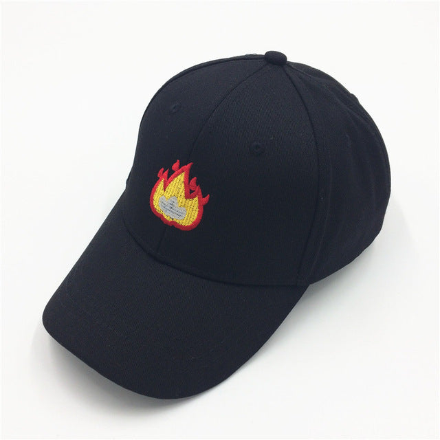 """On Fire, But A Physical Representation"" Hat"