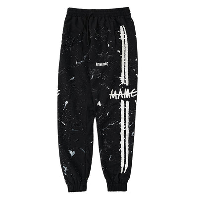 """Night Sky Mark"" Cotton Sweatpants"