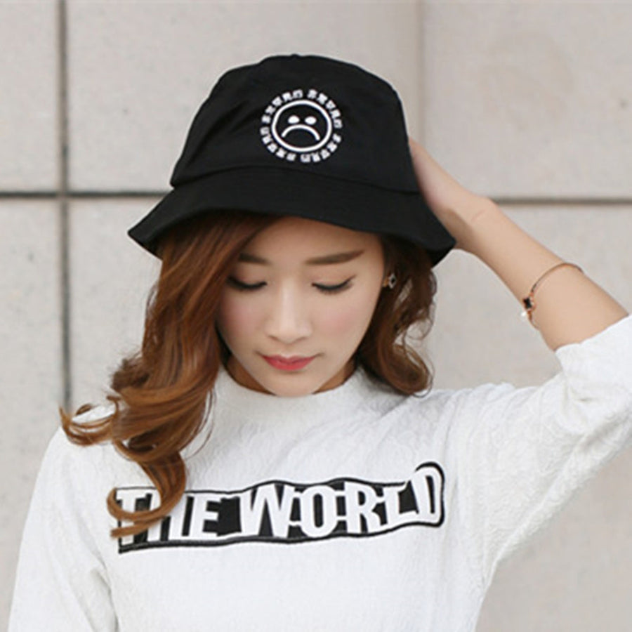 """Bucket of Kanji"" Hat - Womens"