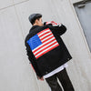 """U.S vs China"" Denim Jacket"