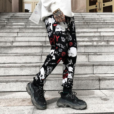"""Skulls N' Graffiti"" Sweatpants"