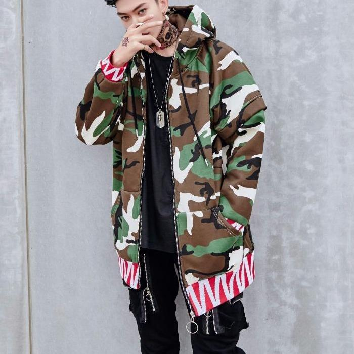 """Bad Boy"" Military Style Jacket"