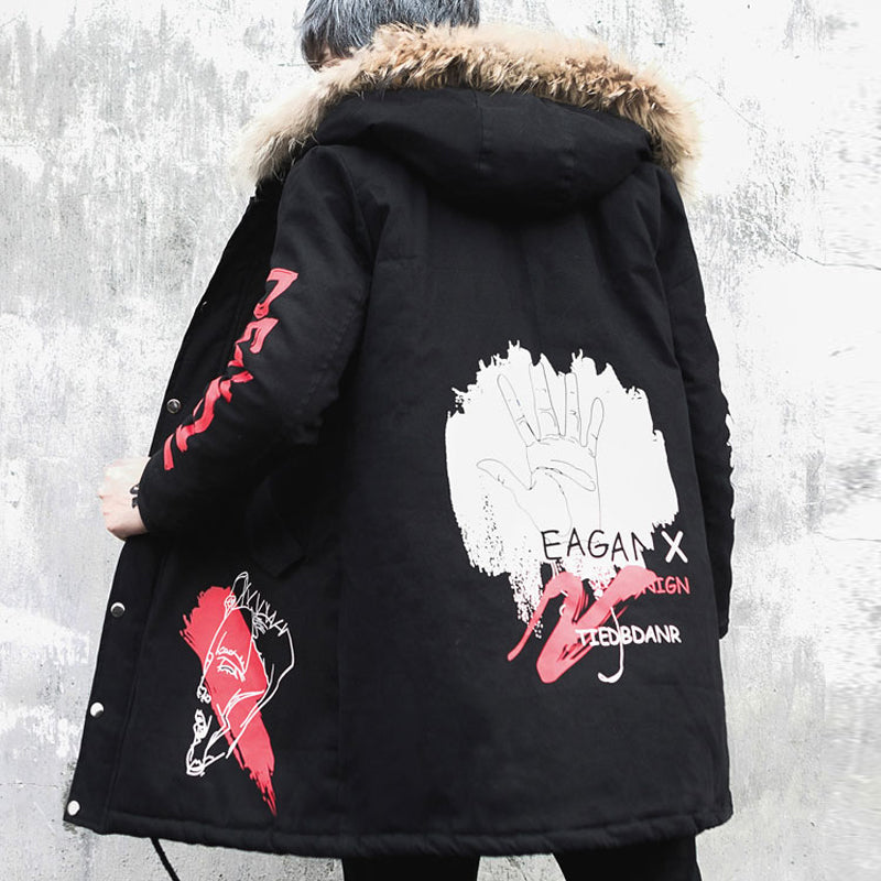 """Trend of Graffiti"" Premium Coat"