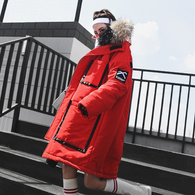 """I Am Invincible"" Deluxe Expedition Parka"