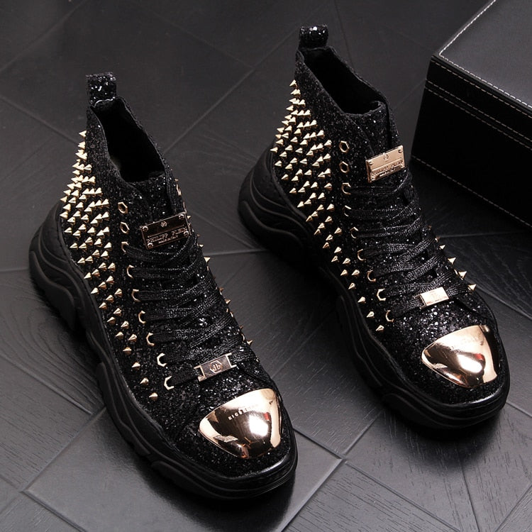 Philipp Plein High Top Rivet Premium Sneakers [2018]