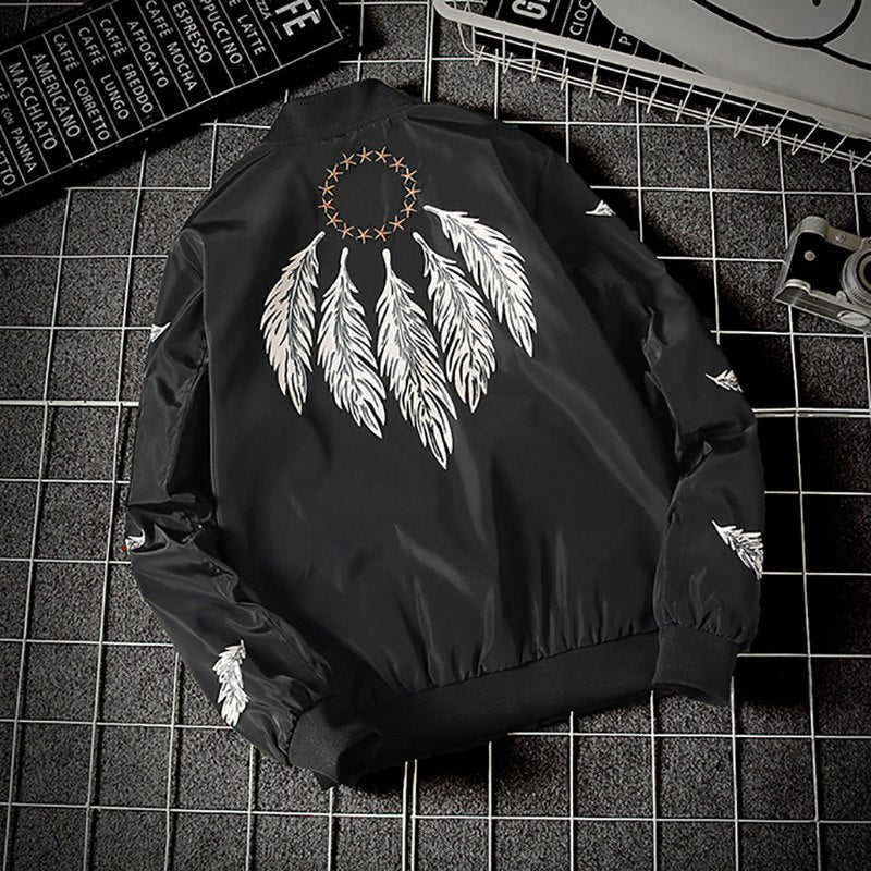 """The Wings & Stars Of The World"" Bomber Jacket"
