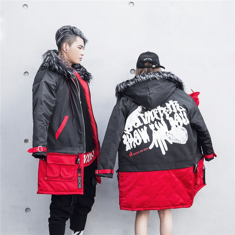 "The ""NOBLE"" Hooded Parka [2 in 1 Coat & Bomber]"