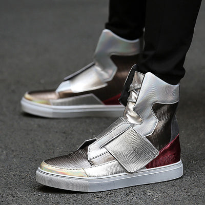 """High Status"" High Top Sneakers"