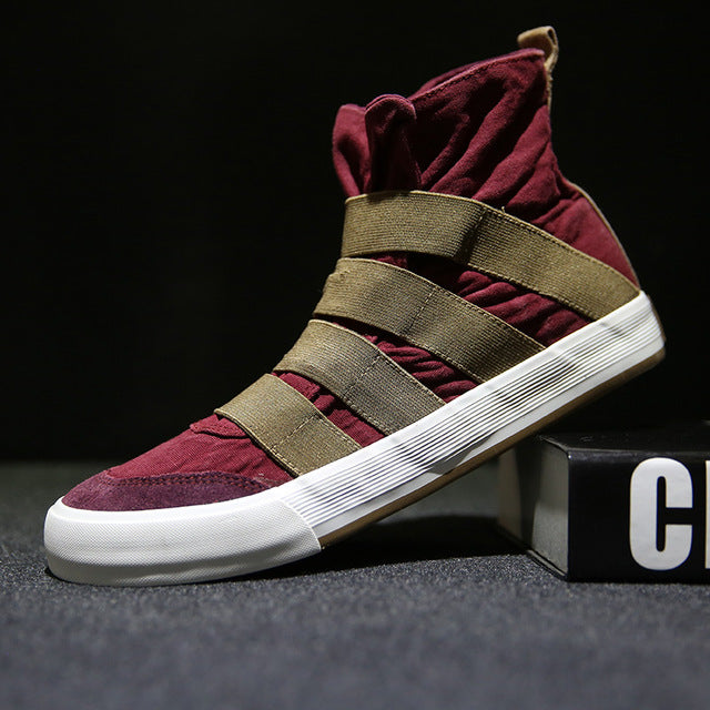 """The Modern Samurai"" Banded Sneakers"