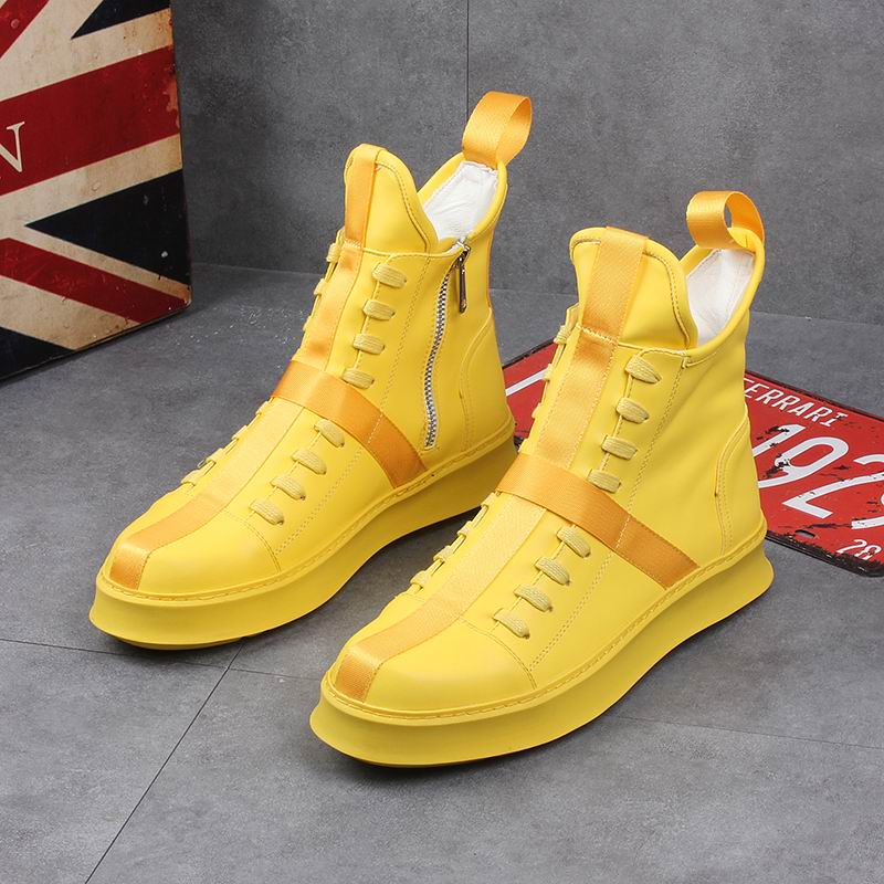 """Archie"" High Top Sneakers"