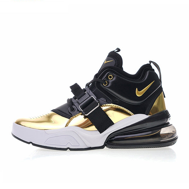 Nike Air Force 270 QS Gold Standard Sneakers