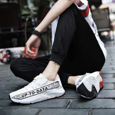 """Up To Data"" Racer Sneakers"