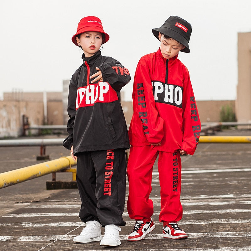 """Back to Street"" Hip-Hop Tracksuit [2 Piece] - Kids"