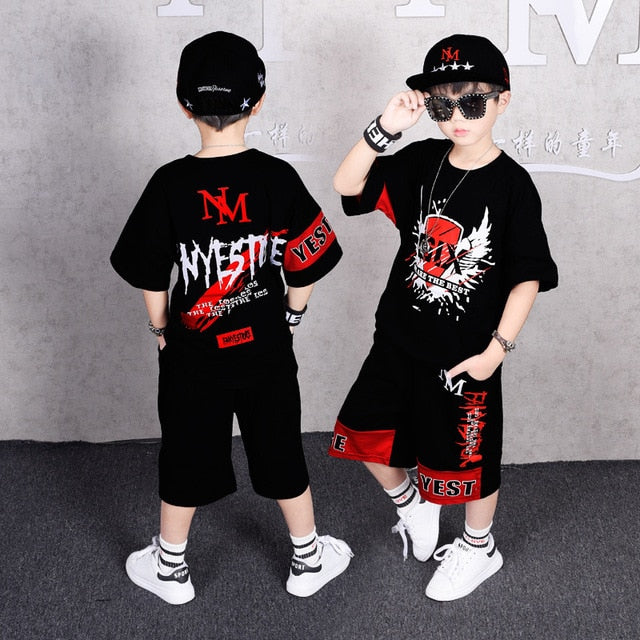 """Fanyestore"" T-Shirt and Short [2-Piece] - Kids"