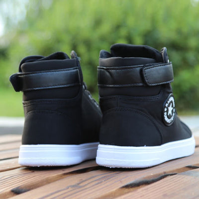 """Rammstein"" High-top Canvas Sneakers"