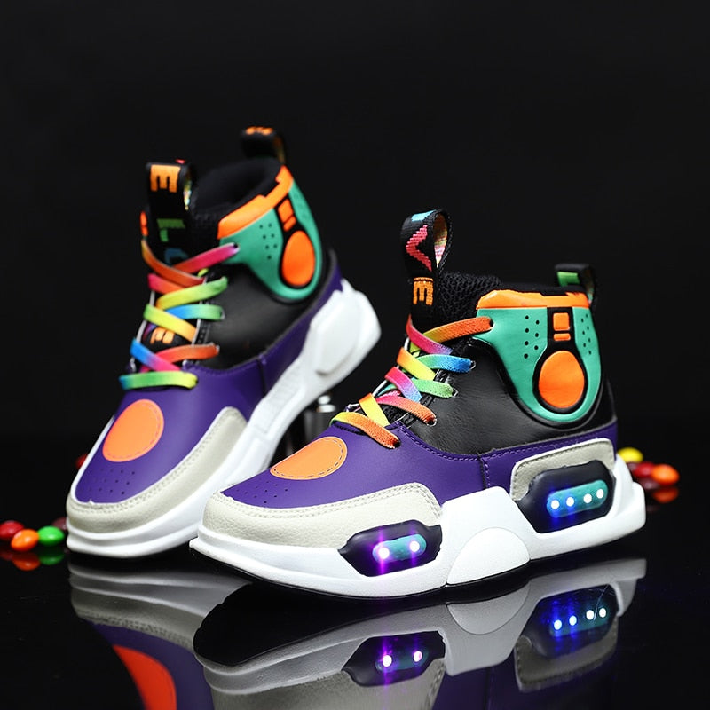 """Future"" LED Sneakers - Kids"