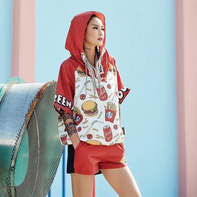"""Micky Dees"" Hooded T-Shirt and Short - Womens"