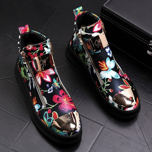 """Growing Lotus"" Sneakers"