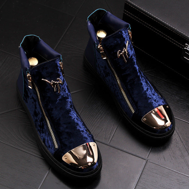 """Berubetto"" Velvet Sneakers [2019]"