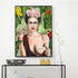 Frida Kahlo Tropical Canvas Wall Art