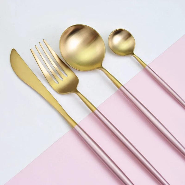 Stilig Rose - Silverware Set