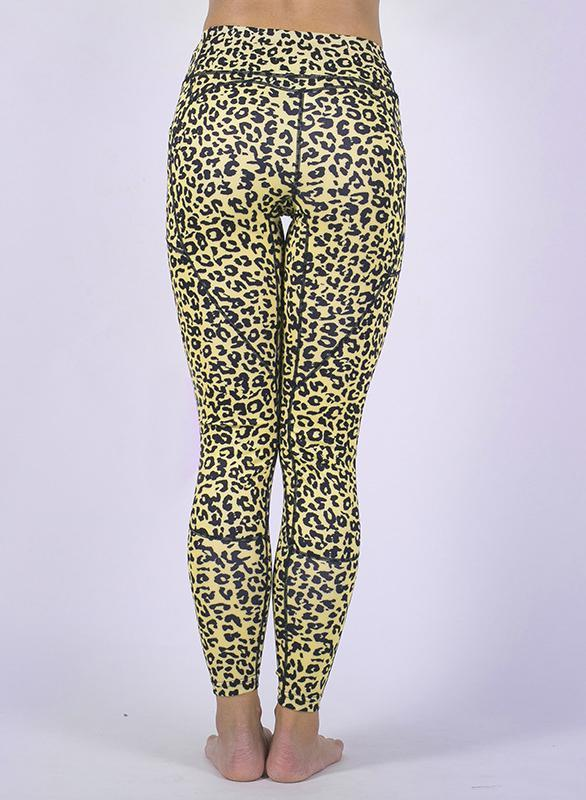 Women Digital Printing Camouflage Leopard Splicing Yoga Leggings