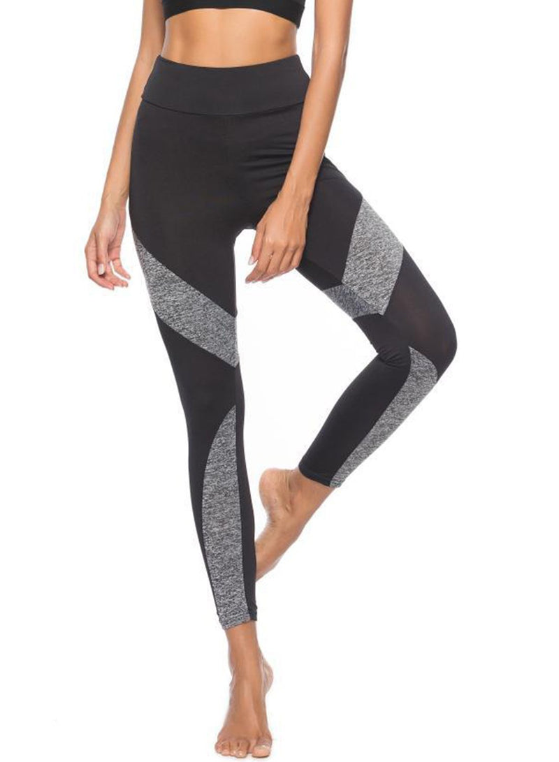 Women's Sexy Slim Spicing Leopard Pattern High Waist Yoga Leggings