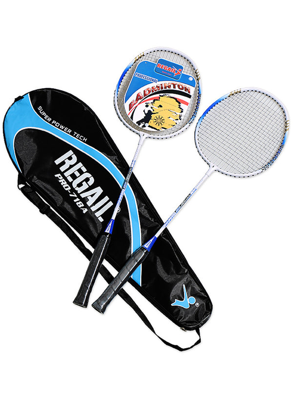 2 Players Aluminium Alloy Badminton Racquet