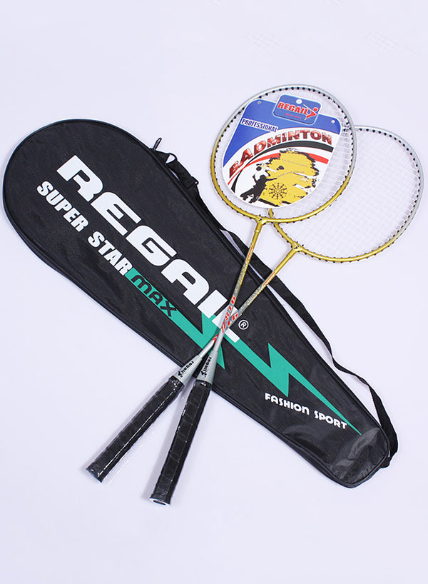 Sports Cartoon Badminton Racket for Unisex Children Junior