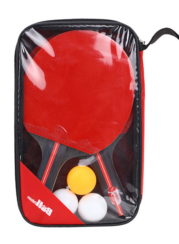 Ping Pong Paddle Table Tennis Racket Set