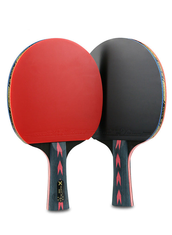 Carbon Fiber Table Tennis Paddle Ping Pong Racket Set-2 Paddles