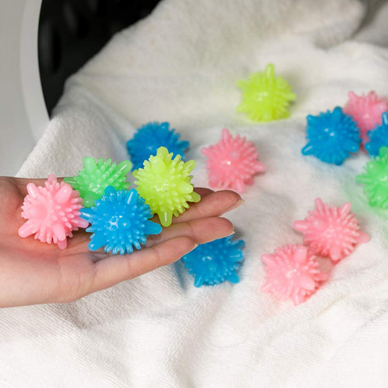 Washer Balls, Eco-friendly Dryer Balls 12 Pcs, Laundry Scrubbing Balls