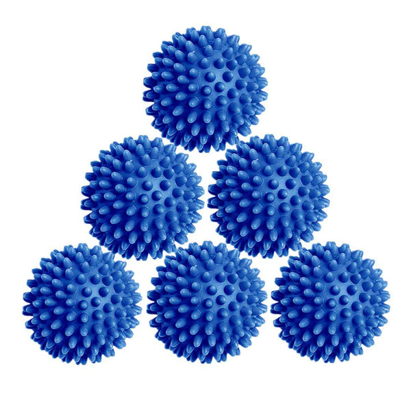Laundry Dryer Balls - 6 Pack Reusable Fabric Softener Alternative