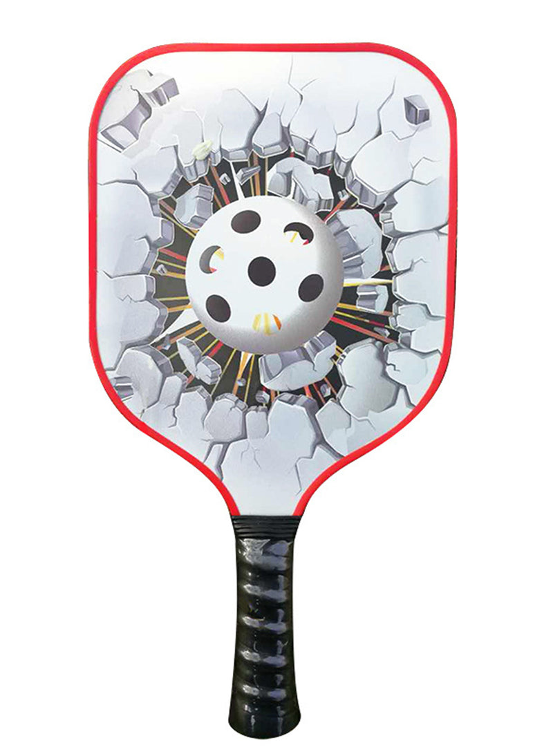 Carbon Fiber Pickleball Paddle Pattern 1