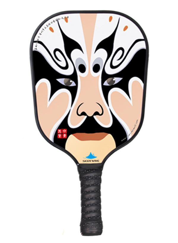Ins Hot Peking Opera Facial Makeup Pickleball Paddle
