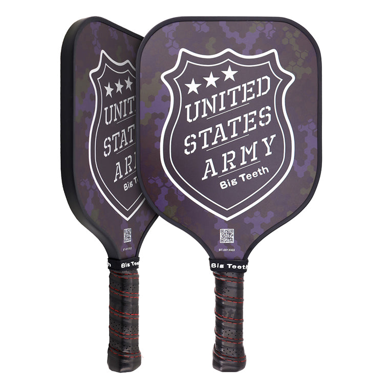 Carbon Fiber Propene Polymer Honeycomb United States Army Pickleball Paddle
