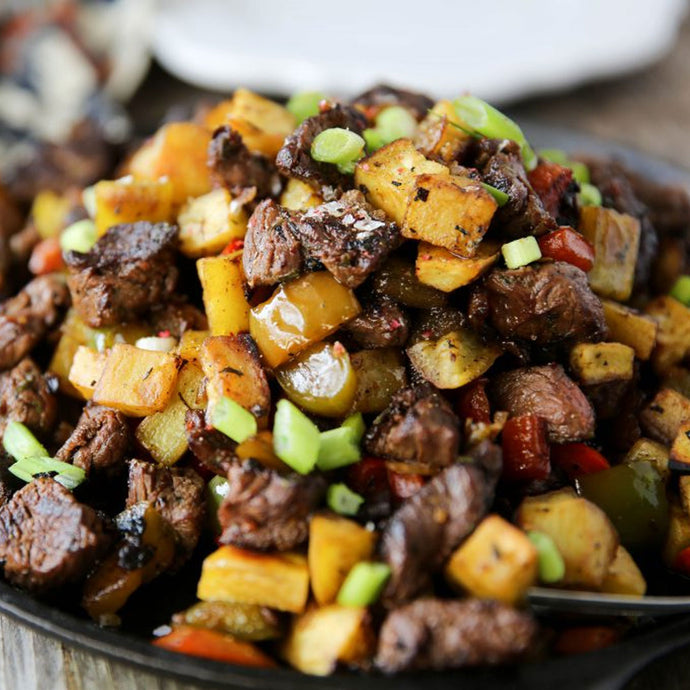 Steak Tips Hash