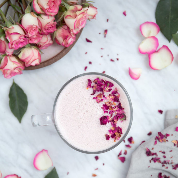 Rose Latte- Dairy free